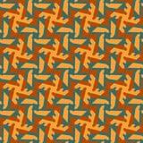 Tesselation abstrait fleuri de la géométrie de couleur photo libre de droits