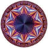 Tesselation hiperbólica colorido Foto de Stock