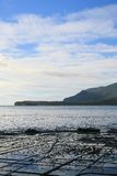 Tessellated Pavement. Found in Tasmania, Australia Royalty Free Stock Images