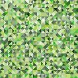 Tessellating抽象绿色背景 免版税库存图片