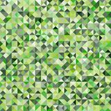 Tessellating Abstract Green Background Royalty Free Stock Images