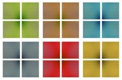 Tessellating texturerar kvarter Royaltyfria Bilder