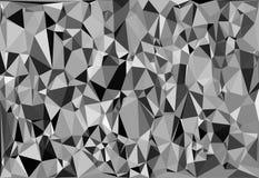 Tessellating trójboków przypadkowy wzór, tła dopasowania przestrzeń ilustracji