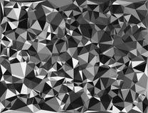 Tessellating trójboków przypadkowy wzór, tła dopasowania przestrzeń royalty ilustracja