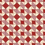 Tessellation coloré d'ornement abstrait de la géométrie Images libres de droits