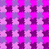 Tessellation de rose et violet coloré de la géométrie image stock