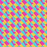 Tessellation géométrique coloré d'ornement de résumé photographie stock