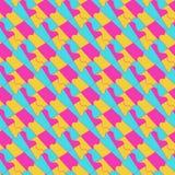 Tessellation geométrico colorido del ornamento del extracto fotografía de archivo