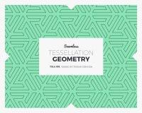 Tessellation Geometry Pattern Stock Image