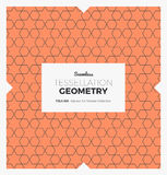 Tessellation Geometry Pattern Royalty Free Stock Photography