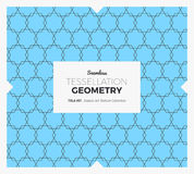 Tessellation Geometry Pattern Royalty Free Stock Image