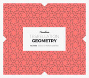 Tessellation Geometry Pattern Stock Photo