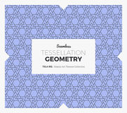 Tessellation Geometry Pattern Stock Image