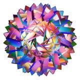 Tessellazione iperbolica colorata immagine stock libera da diritti