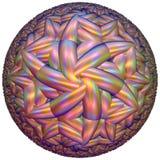 Tessellazione iperbolica colorata Immagini Stock