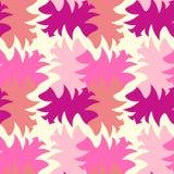 Tessellazione magenta e gialla variopinta di rosa, della geometria fotografia stock