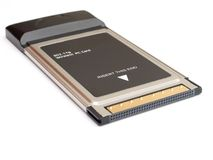 Tessera PC della rete wireless Immagine Stock