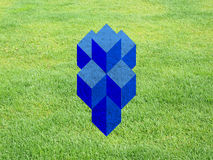 Tesseract aka Hypercube Stock Photo