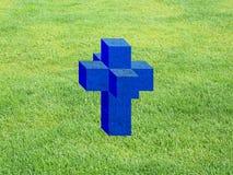 Tesseract aka Hypercube Royalty Free Stock Photography