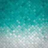 Tessere beige e grige Fondo del mosaico fotografia stock