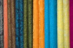 Tessile colorata Fotografie Stock Libere da Diritti