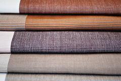Tessile d'abbigliamento colorata pastello del tessuto Immagine Stock