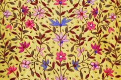 Tessile floreale Fotografia Stock