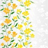 Tessile Pattern-Floral-3 Fotografia Stock
