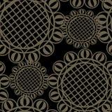 Tessile senza giunte dell'ornamento Fotografia Stock