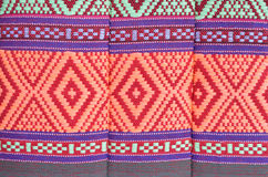 Tessile tailandese del nativo di stile Fotografia Stock Libera da Diritti