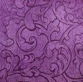 Tessile viola Immagine Stock