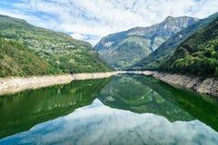 Tessin - Schweiz Royaltyfria Foton