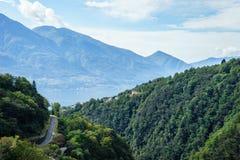 Tessin - Schweiz Arkivfoton