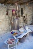Tessitore palestinese Fotografie Stock