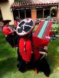 Tessitori di Cusco Fotografia Stock