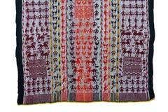 Tessitura del tessuto di Tarabuco Immagine Stock