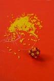 Tessitura della perla Fotografia Stock Libera da Diritti