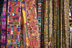 Tessitura guatemalteca Fotografie Stock