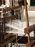 Tessitura medioevale della moquette Fotografia Stock