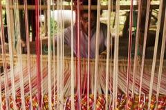 Tessitura Tailandia Fotografia Stock