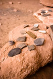 Tessons de poterie Image libre de droits