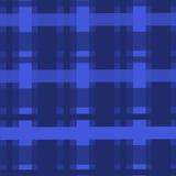 Tessuti astratti del blu del tessuto delle cellule della carta da parati del contesto del modello del fondo Fotografia Stock Libera da Diritti