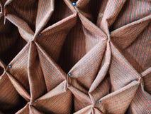 Tessuti decorativi della Tailandia Fotografia Stock Libera da Diritti
