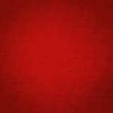 Tessuti di tela rossi Fotografia Stock