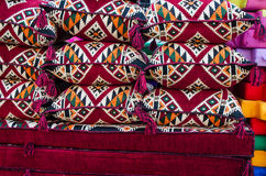 Tessuti tradizionali arabi - immagine di riserva Immagini Stock