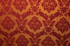 Tessuto antico con i reticoli Fotografie Stock