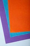 Tessuto arancio Immagini Stock