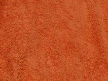 Tessuto arancione Fotografie Stock Libere da Diritti
