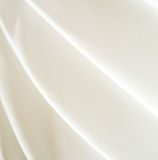 Tessuto bianco Fotografia Stock