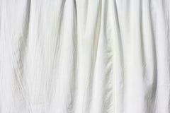 Tessuto bianco Fotografie Stock